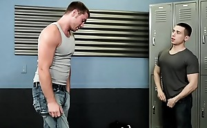 Analized jock cum covered