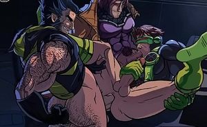 Gay X-men: Nightfall