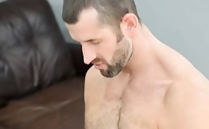 Gay studs fuck and cum