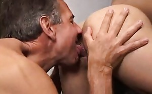 Lovely twink hatefucked by daddy