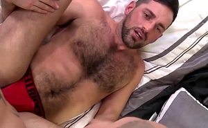 Feuding dilf cumshots after makeup analsex