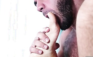 Ricky rimming Brendans anal with an increment of fuck well-found